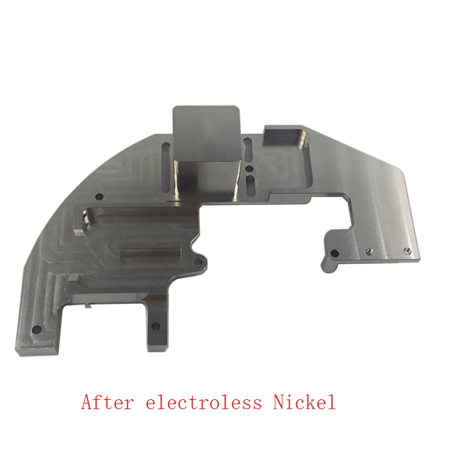 after electroless Nickel