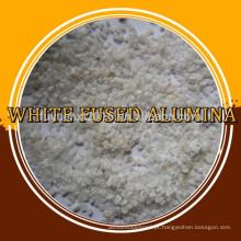 Óxido de alumínio branco de alta qualidade / Alumina fundida branca / Corundum branco