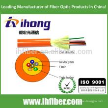 Câble optique tampon de distribution étanche (GJFJV)