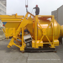 CE, SGS Certified! ! Jzm750 (20~30m3/h) Self Loading Mobile Concrete Mixer, Portable Self-Falling Concrete Mixer
