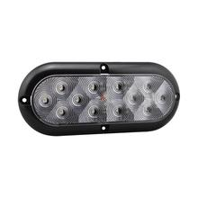 DOT 6 Inch Oval LED Truck Rear Stop Light Kit