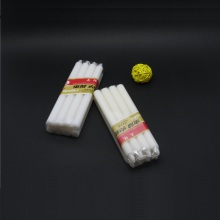 white stick candle for party