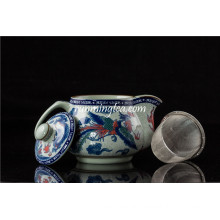 500ml Traditional Dragon & Phenix Ceramic Tea Pot