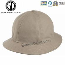 Profesional bajo de la corona de algodón de color caqui algodón sombrero con logotipo personalizado