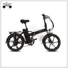 250w motor trasero mini 20inch plegable e-bike