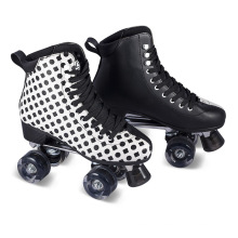 Soft Boot Quad Roller Skate for Adults (QS-46)