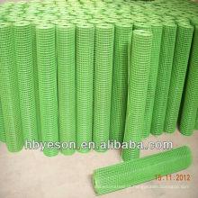3'x100 'EACH ROLL de vinil de aço de baixo carbono e PVC Coating Welded Mesh