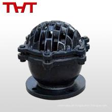 Medium tempertuare 4-Zoll-Aluminium-Pneumatik-Control-Notfall-Fußventil