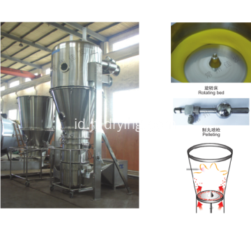 XLB Rotor Fluid-Bed Pelletizer Drying Coating Machine