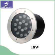 18W 85-265V redondeado subterráneo LED enterrado luz