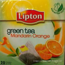 Leptina verde té mandarina