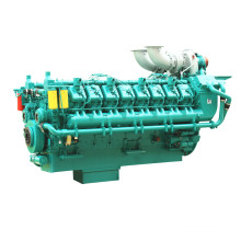 50Hz 1740kw-2066kw Power Plant Diesel Engine for Large Generator