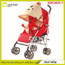 Carrinho de criança dos miúdos Novo carrinho de bebê vermelho leve