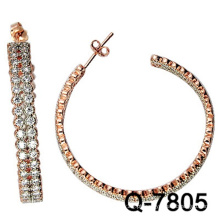 Brincos novos da jóia de cobre do modelo com preço competitivo da fábrica