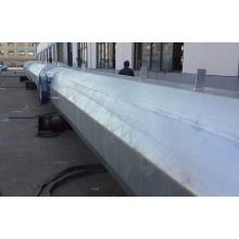 Flange Connected Galvanized Steel Pole