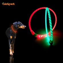 High Brightness Led Reflective Tube Dog Collar