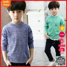 100% cotton fsahion customized boys sweater design 2016