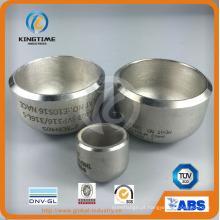 ASME Wp304 / 304L Ss aço Cap solda encaixe com serviço de OEM (KT0241)