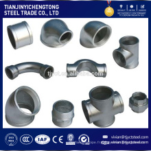 haute qualité forgé 90 degrés en acier au carbone coude en acier inoxydable raccord de tuyau