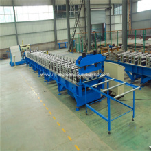 Automatic floor decking sheet roll forming machine
