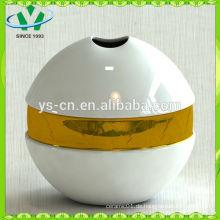 Mordern Hausdekor vergoldung Keramik Vase aus China