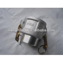 Accouplements de camlock en aluminium / accouplement de camlock d'acier inoxydable / raccord de cannelure de serrure de came / came-serrure