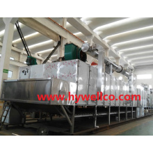 Continuous Type Mesh Belt Dryer for Rosebud