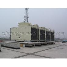 Torre de resfriamento retangular de fluxo cruzado certificada CTI JNT-1000 (S) / M