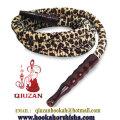 Mya qualité 1,8 M léopard impression narguilé tuyau QZP-016