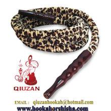 Mya calidad 1,8 M Leopard Print cachimba manguera QZP-016