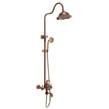 G080 new design bronze plated bathroom shower mixer, brass faucet body and shower head