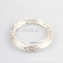 Electric and decorated pure silver wires