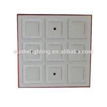 9w Oberfläche montiert LED Decke Licht quadratisch führte Deckenleuchte rgb 3w LED Deckenleuchten