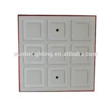 9w поверхностного монтажа светодиодный потолочный светильник квадратный светодиодный потолочный светильник RGB 3W светодиодные потолочные светильники