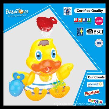 Красочные игрушки утка для детей пластиковые игрушки ванной