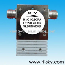 210-226MHz РФ УКВ коаксиальный изолятор циркулятор