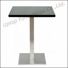 Mesa de comedor de mármol duradero del restaurante de la base de acero (SP-RT130)