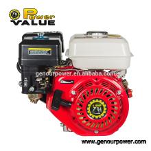 Маленький бензиновый двигатель с одноцилиндровым бензиновым двигателем сцепления gx200 6.5hp