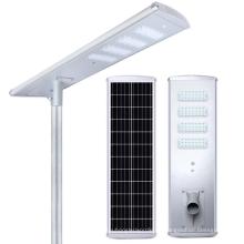 Farola LED solar integrada todo en uno