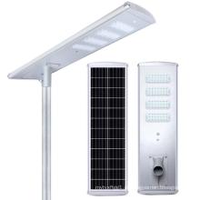 Luz de rua led solar integrada All In One