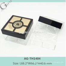 AG-TH1404 Praça do AGPM elegante personalizado vazio pó solto caso