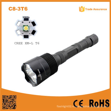 C8-3t6 3t6 3xxm-L T6 Супер яркий 5mode светодиодный водонепроницаемый фонарик 30W дальнего света фонарик