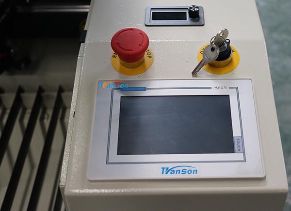 touch screen laser cutter