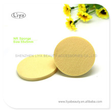 Yellow Round Makeup Sponge Free Sample Available
