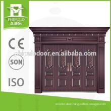 Best selling luxury design villa copper door from China supplier