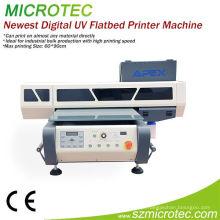 Impressora de tela UV totalmente automática de 2 cores