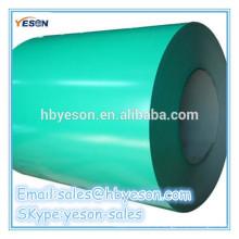 Предварительно окрашенная стальная спираль GI / PPGI / PPGL цветной оцинкованный стальной лист в рулоне