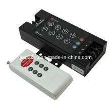 4A, 288W Wireless RGB LED RF 8-Key Audio Controller