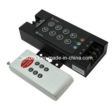 4A, 288W Wireless RGB LED RF 8-Key Audio Controller