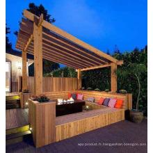 2016 haute qualité avec pavillon bas gazebo patio extérieur